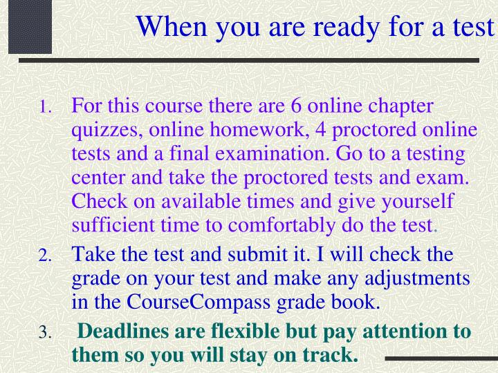 Do homework coursecompass