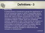 definitions 3