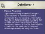 definitions 4