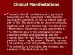 clinical manifestations83