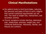 clinical manifestations96