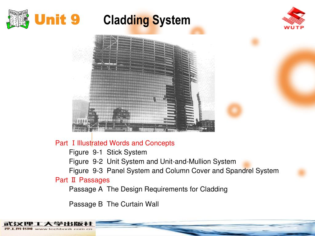 unit 9 cladding system l.