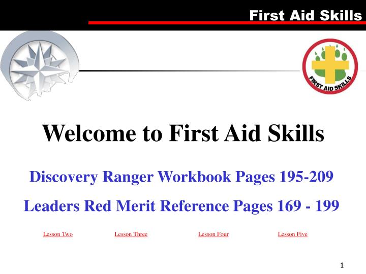 welcome to first aid skills n.
