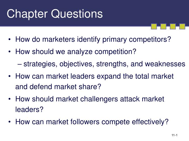 an introduction to the analysis of a competition Competitor analysis topic gateway series about topic gateways topic gateways are intended as a refresher or introduction to topics of interest.