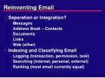 reinventing email1