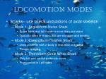 locomotion modes