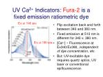 uv ca 2 indicators fura 2 is a fixed emission ratiometric dye