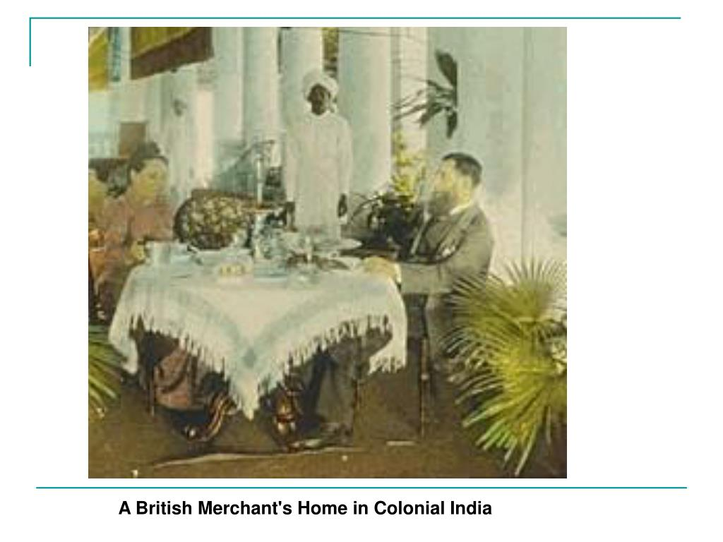 A British Merchant's Home in Colonial India