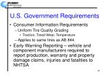 u s government requirements30