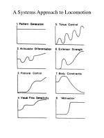 a systems approach to locomotion