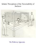 infants perceptions of the traversability of surfaces