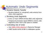 automatic undo segments1