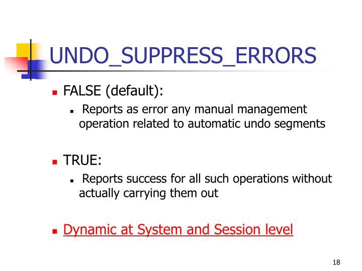 UNDO_SUPPRESS_ERRORS