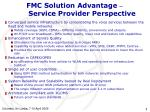 fmc solution advantage service provider perspective