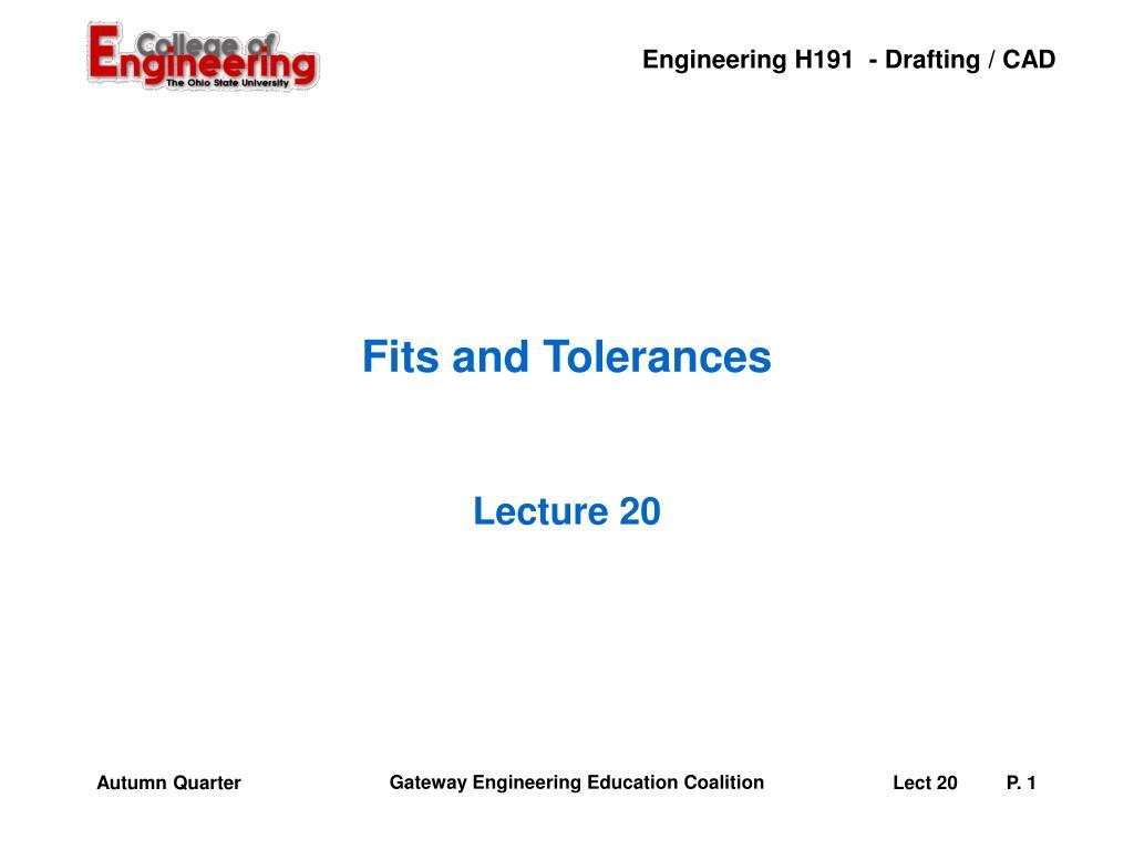 fits and tolerances l.
