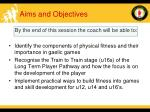 aims and objectives36