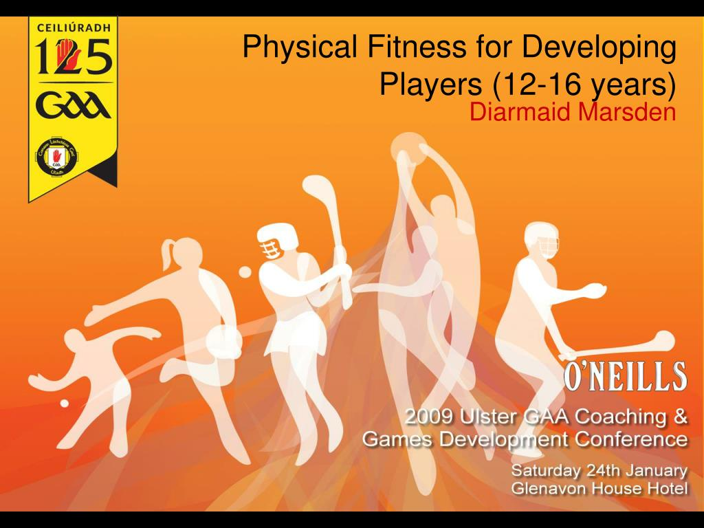 physical fitness for developing players 12 16 years l.