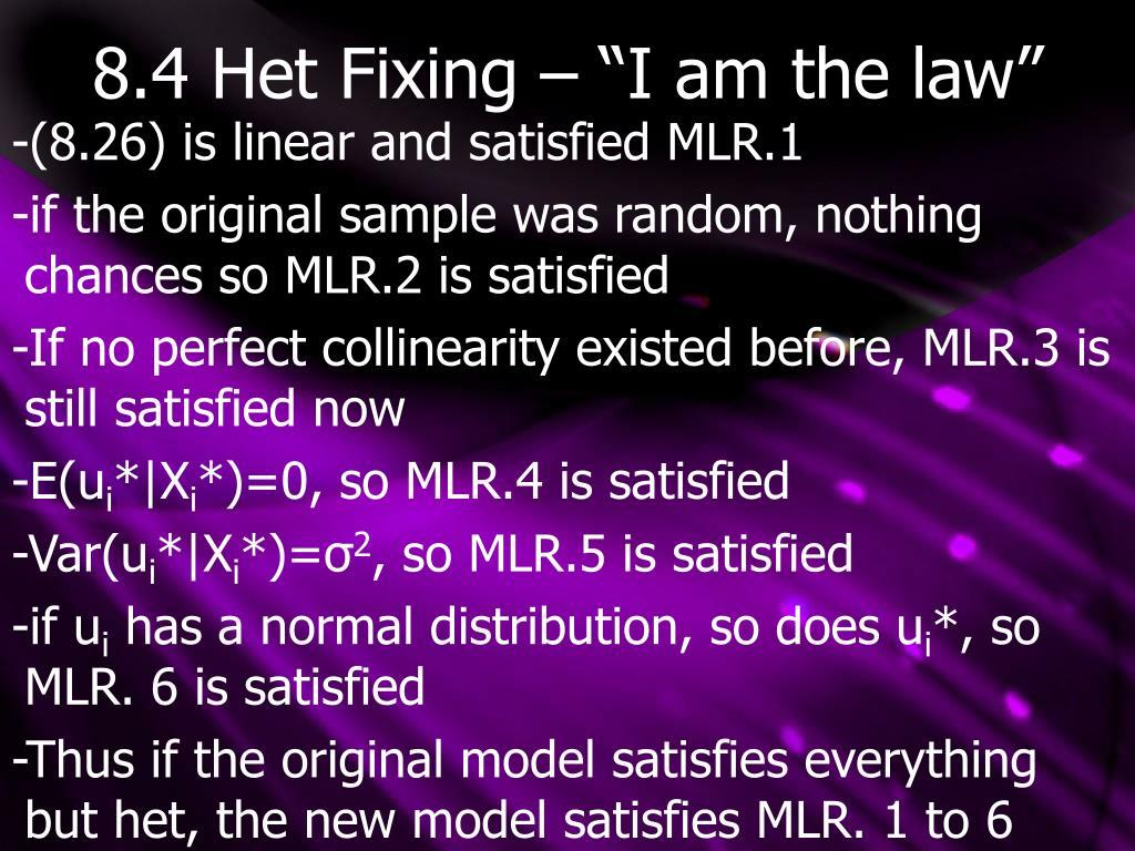 "8.4 Het Fixing – ""I am the law"""