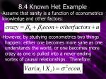 8 4 known het example