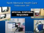 north memorial health care robbinsdale mn