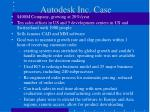 autodesk inc case