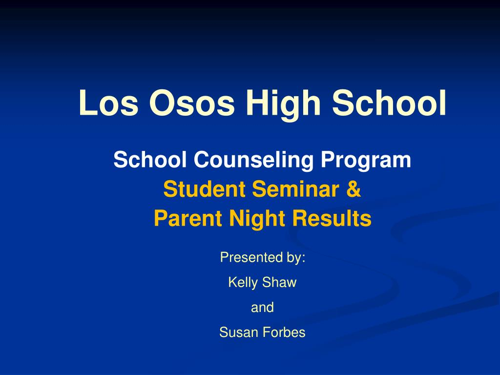 los osos high school l.