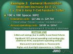 example 3 general illumination 100wcmh electronic ed17 vs 2 x 32w u lamp 9 cell parabolic troffer