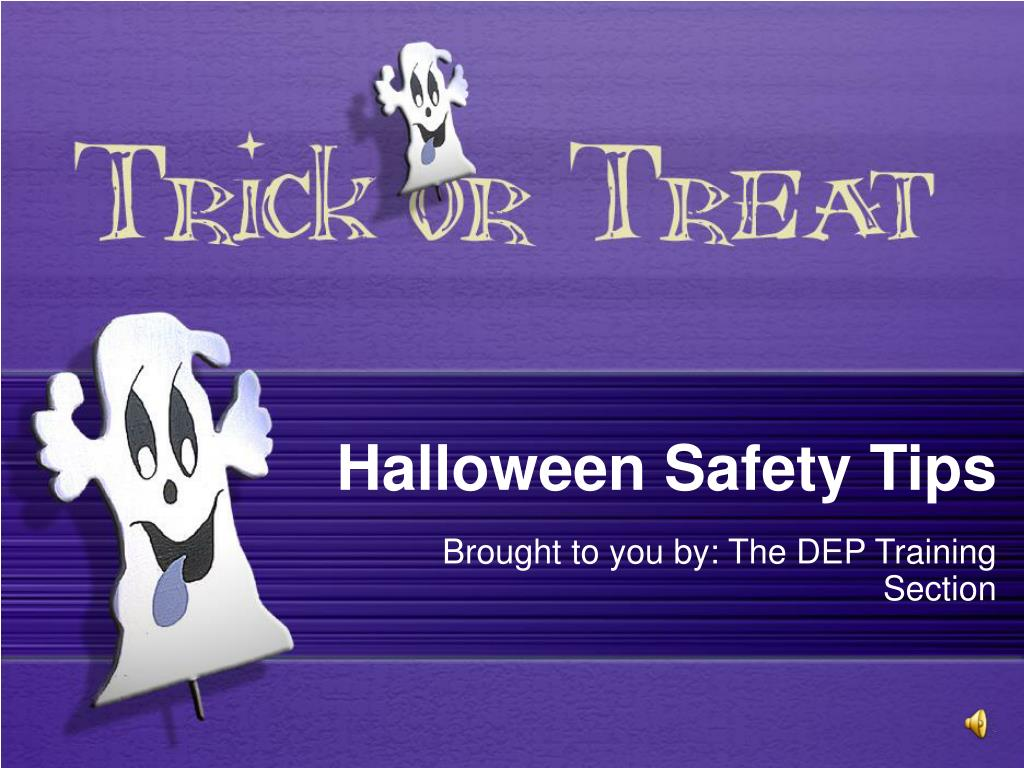 halloween safety tips l.