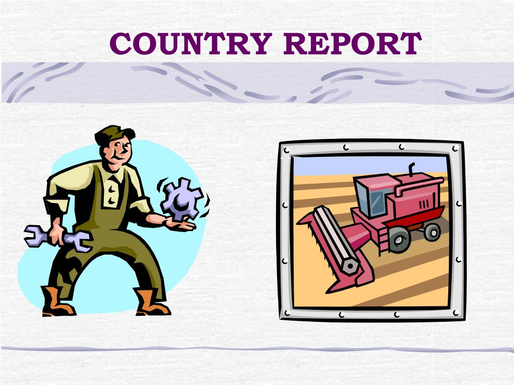 country report l.