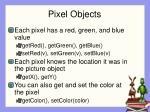 pixel objects
