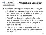 atmospheric deposition20