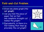 fold and cut problem