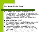 using material selection charts21