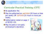 curricular practical training cpt2