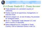e 1 treaty trader e 2 treaty investor