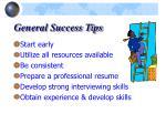 general success tips