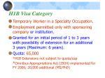 h1b visa category