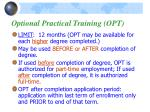 optional practical training opt1