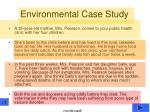 environmental case study