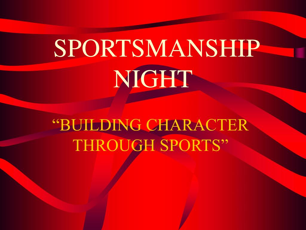 sportsmanship night l.