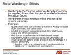 finite wordlength effects