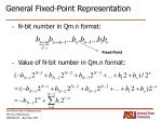 general fixed point representation10