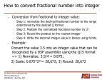 how to convert fractional number into integer