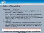 definition of geocoding