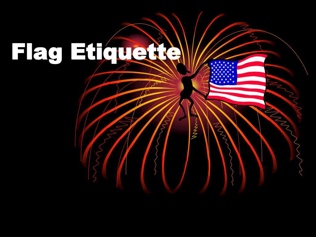 flag etiquette l.