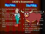 1920 s economics