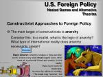 u s foreign policy nested games and alternative theories7