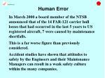 human error10
