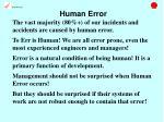 human error11