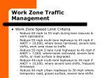 work zone traffic management16